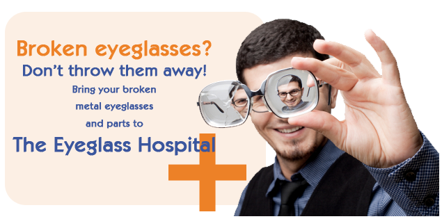 Eyeglass Repair in Cleveland, OH by The Eyeglass Hospital